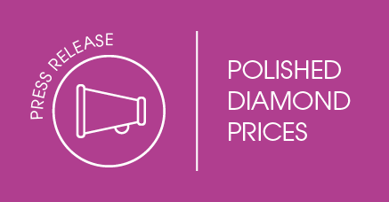 Press Release: Polished Diamond Prices Firm in February